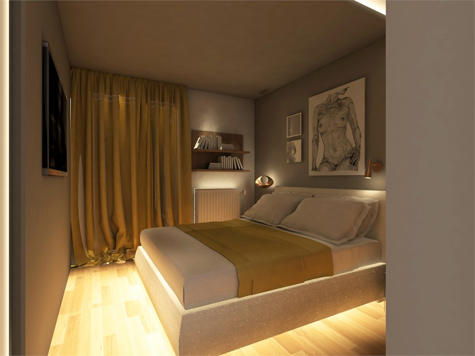 Apartment interior design in Athens