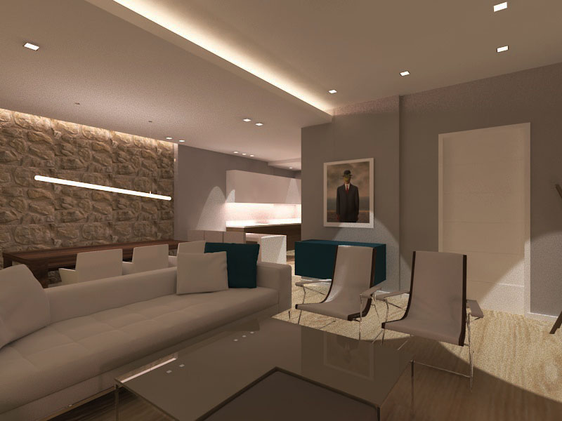 Interior design in appartment in Peristeri area